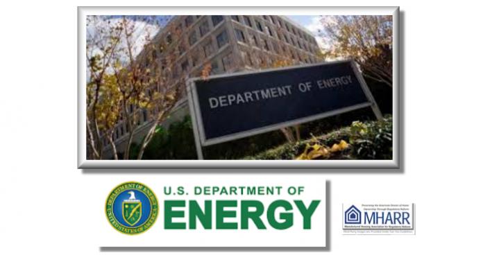 USDepartmentofEnergyDOEManufacturedHousingAssocRegulatoryReformMHARR
