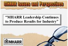 MHARRIssuesPerspectivesMHARRleadershipProducesResultsForIndustry