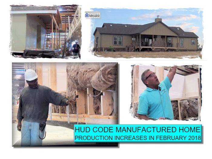 HUDCodeManufacturedHomeProductionFebruary2018