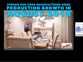 StrongHUDCodeManufacturedHomeProductionGrowthAugust2018ManuacturedHousingAssociationRegulatoryReformMHARRLogo