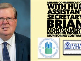 BrianMontgomeryAstHUDSecretaryFHAOfficialPhotoHUDLogoMHARRlogoCommunicationMonitoringContractManufacturedHousingAssocRegulatoryReform