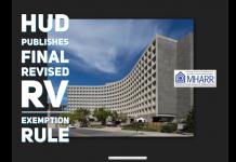 HUDPublishes.FinalRevisedRVExcemptionRule-ManufacturedHousingAssociationRegulatoryReformLogo