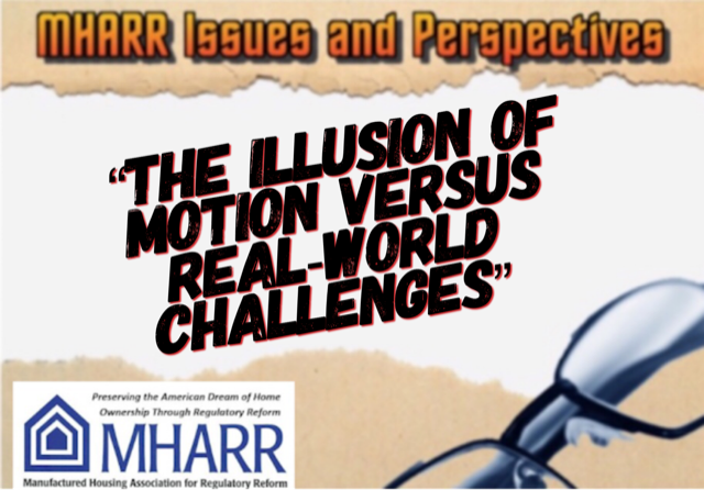 MHARR-Issues and Perspectives The Illusion of Motion Versus Real-World Challenges