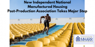 NewIndependentNationalManufacturedHousingPostProductionAssociationTakesMajorStepMHARRlogoManufacturedHousingAssocRegulatoryReform
