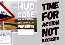 HUD Code Manufactured Home Production Decline Persists – Time For Action Not Excuses