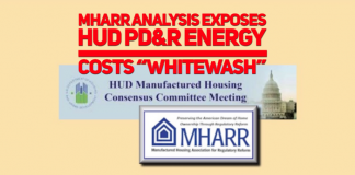 MHARR MHCC APRIL 2019 PD & R ENERGY COST COMMENT