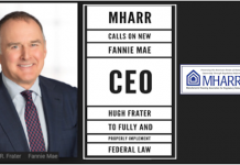 MHARR Calls on New Fannie Mae CEO Hugh Frater to Fully and Properly Implement Federal Law