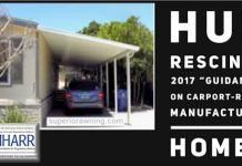 HUDRecinds2017GuidanceCarportRedyManufacturedHomesMHARRlogoManufacturedHousingAssocRegulatoryReform