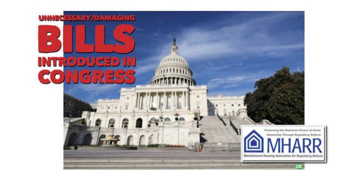 UnnecessaryDamaging Bills Introduced in Congress-mharr