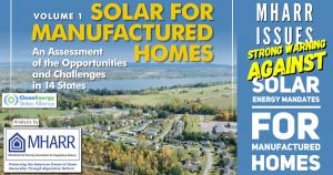 SolarForManufacturedHomesOpportunitiesChallengesPhotoClearnEnergyStatesAllianceLogo